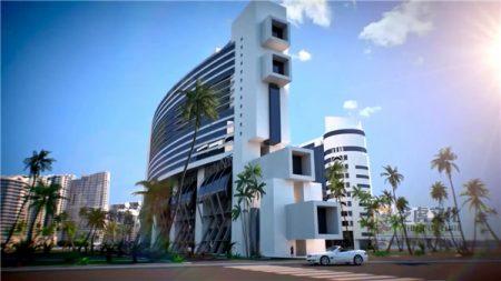 建筑三维动画内容